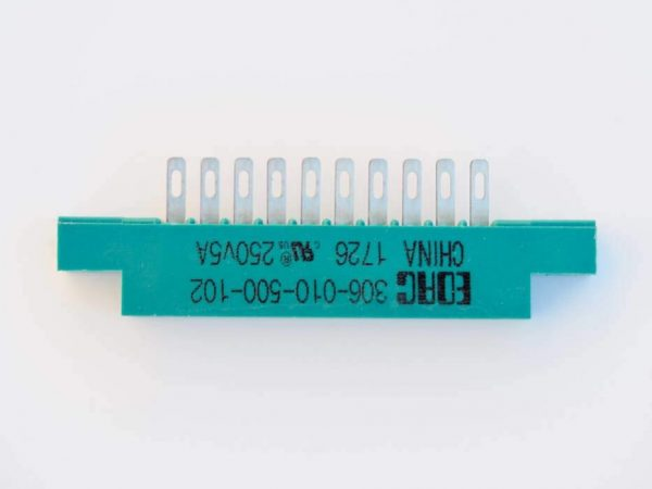 10-pin EDAC connector