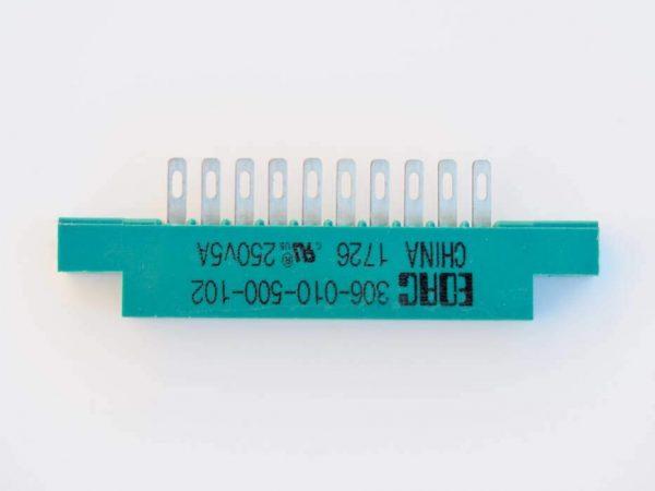 10-pin EDAC connector
